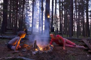 PLATE 13. Ira Lippke. How to Start a Fire, 2015. Archival pigment print. 48 x 72 inches.