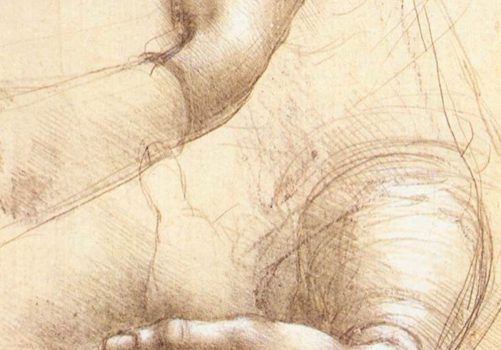 image of two hands sketched out, both reaching slightly and curled inwards.