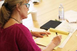 Glen Workshop Aubrey Allison Kathleen writing