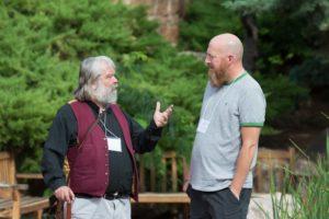 Glen Workshop Bob Denst Malcolm and man