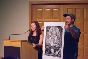 Glen Workshop Bob Denst art auction