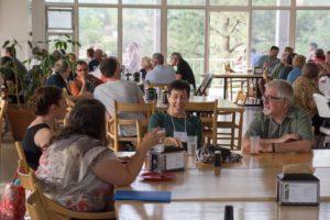 Glen Workshop Bob Denst cafeteria