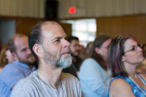 Glen Workshop Bob Denst man in the crowd