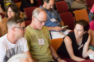 Glen Workshop Bob Denst people talking