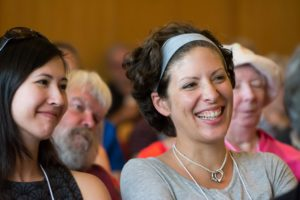 Glen Workshop Bob Denst women laughing