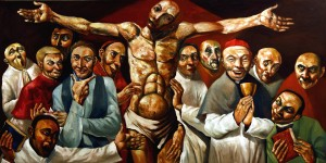 PLATE 5. Emmanuel Garibay. Reunion, 2007. Oil on canvas. 48 x 72 inches. Courtesy of the artist.