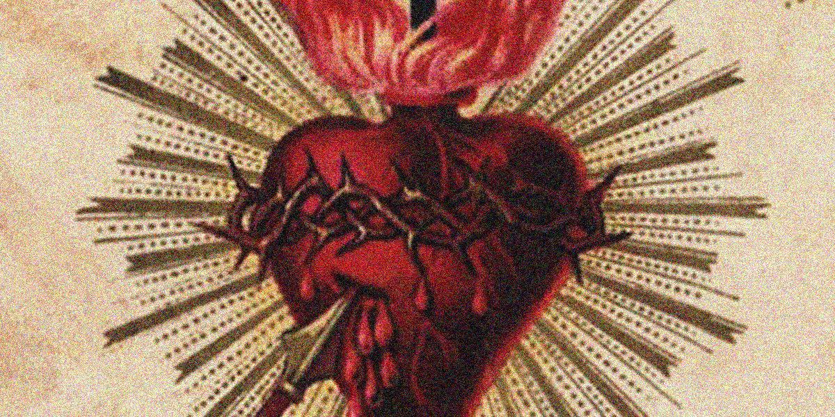 sacred-heart-paris-holy-card